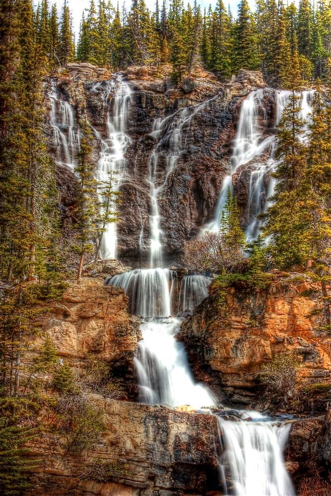 Takakkaw Falls by Jun Song