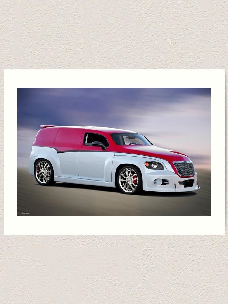Hhr Custom Sedan Delivery Art Print By Davekoontz Redbubble