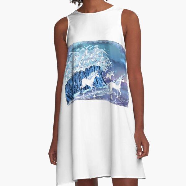 Licornes dans la mer Robe trapèze