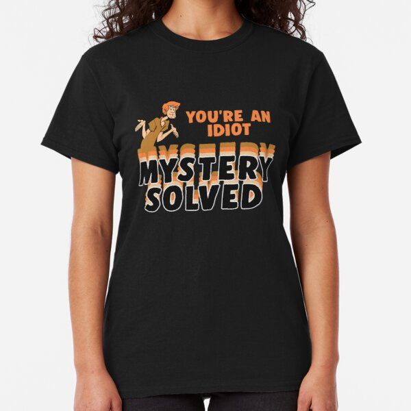 Shaggy - You're an Idiot, Mystery Solved  Classic T-Shirt