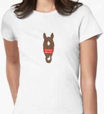 Omaha Beach Tailliertes T-Shirt für Frauen