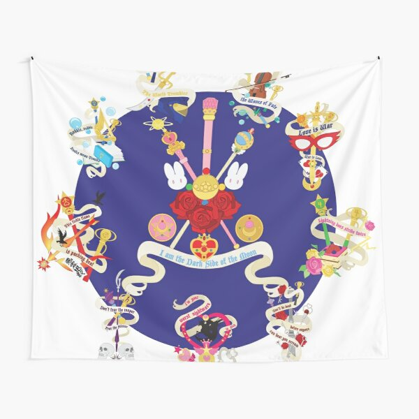 Sailor Senshi Banners 2 Tapestry