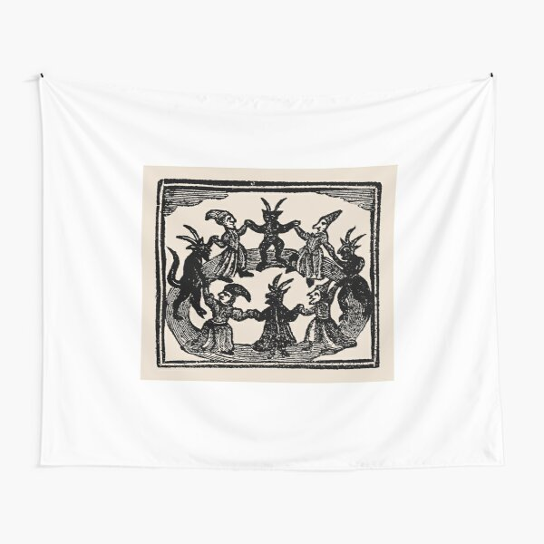 Witches Circle Dance Tapestry