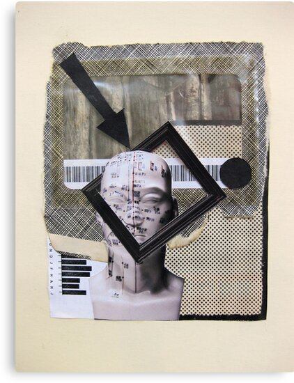 Boxes, barcode and brains...graphic frame of mind by Susan Ringler