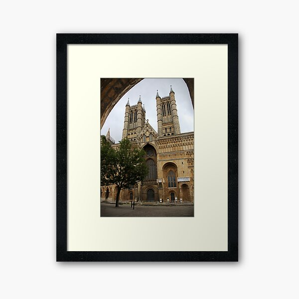 Lincoln Cathedral 6 Framed Art Print