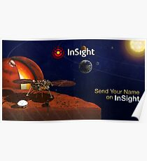 Mars InSight ⛔ HQ-Größe Poster