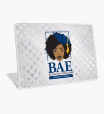 BAE- Black and Educated Master's Degree Silver Laptop Skin