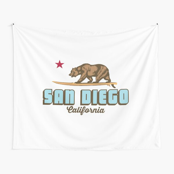 San Diego - California. Tapestry