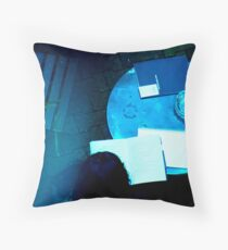 Parisian Poet just before a storm... Throw Pillow