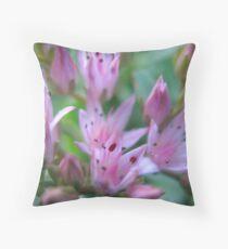 The Frailties of Pink Throw Pillow