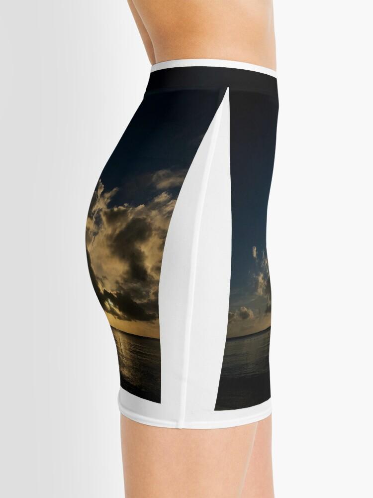 Alternate view of Reflection sunset Mini Skirt