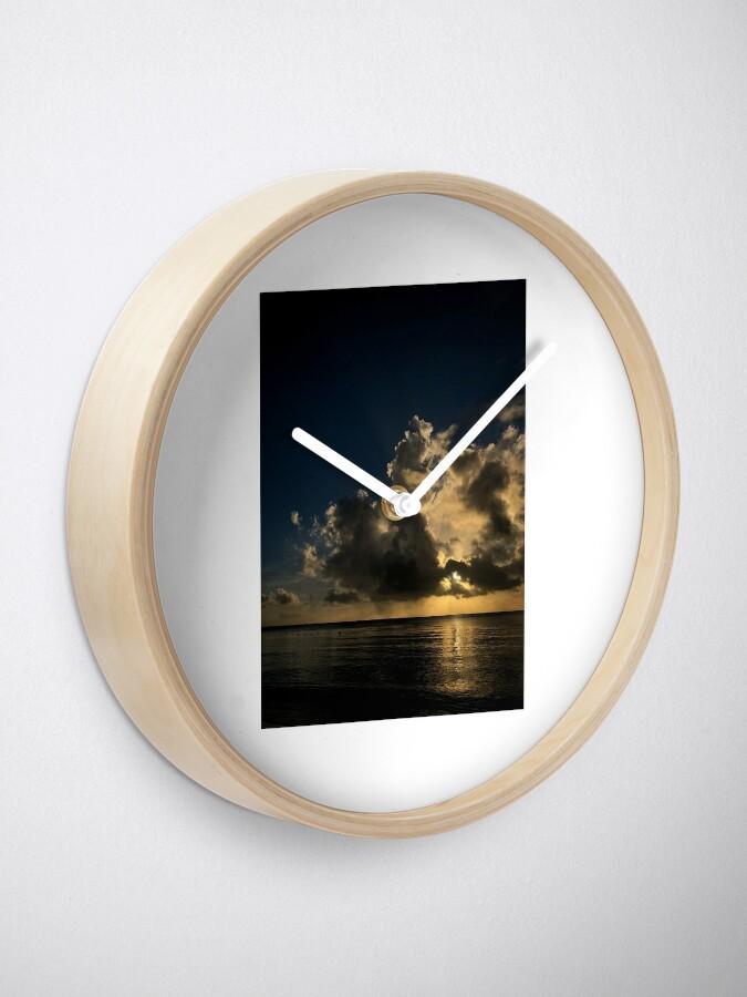 Alternate view of Reflection sunset Clock