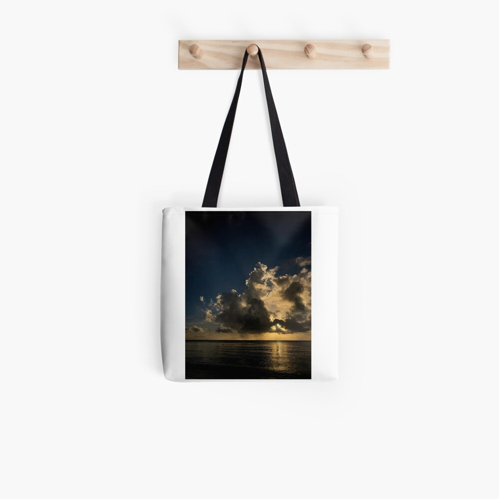 Reflection sunset Tote Bag