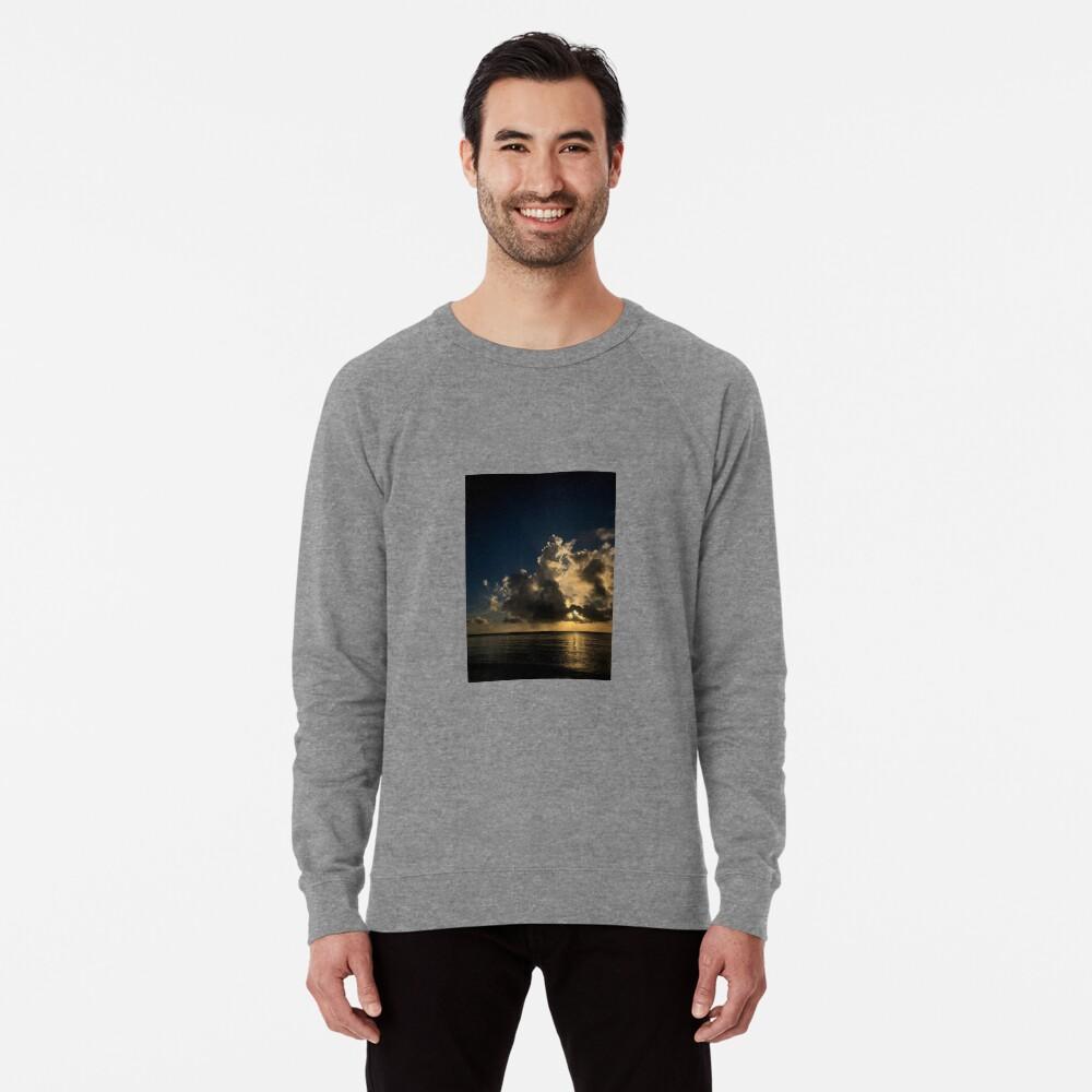 Reflection sunset Lightweight Sweatshirt