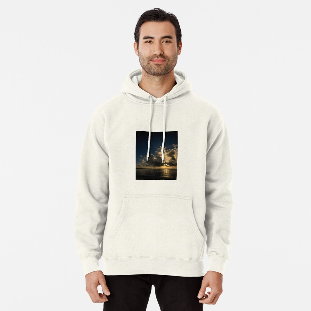 Reflection sunset Pullover Hoodie