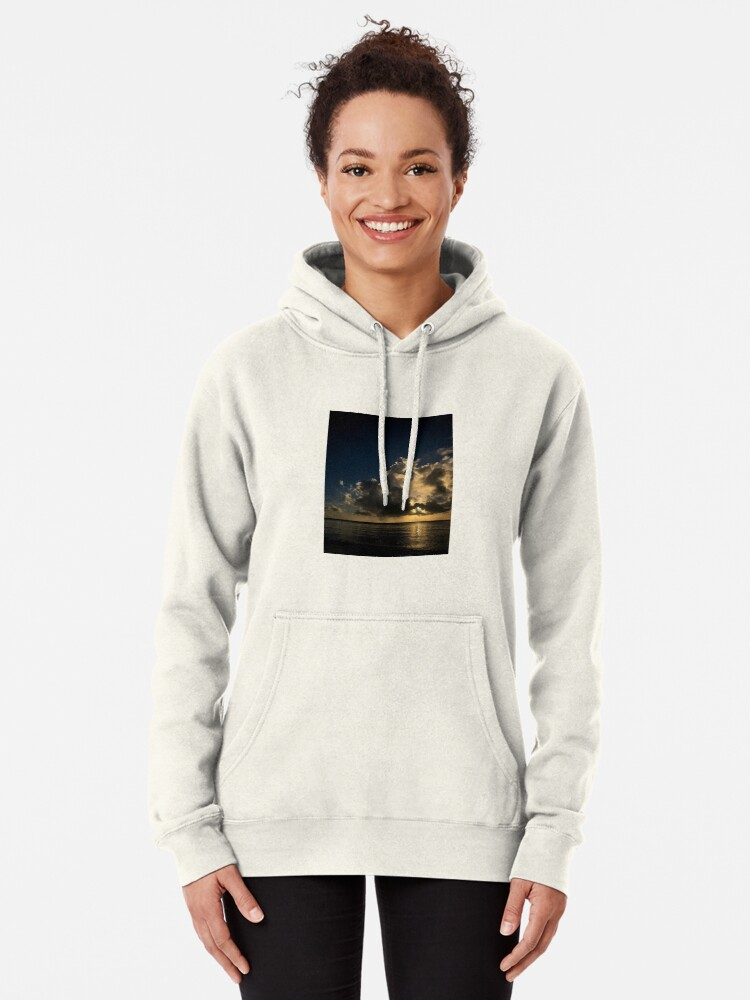 Alternate view of Reflection sunset Pullover Hoodie