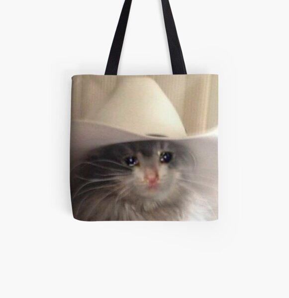 Sad Yee-Haw All Over Print Tote Bag
