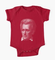 7th US president, Andrew Jackson portrait Short Sleeve Baby One-Piece