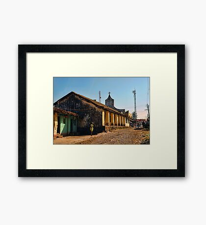 Village Mission Framed Print
