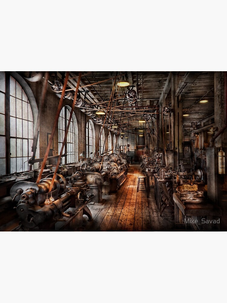 Machinist - A fully functioning machine shop  by mikesavad