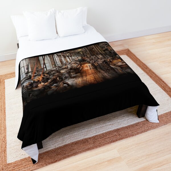 Machinist - A fully functioning machine shop  Comforter