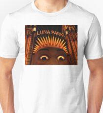 LUNAcy - luna park at night T-Shirt