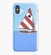 Sunfish Sailboat iPhone Case/Skin