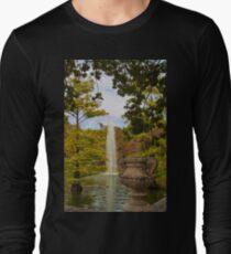 Camiseta de manga larga Spain. Madrid. Fall in Buen Retiro park.