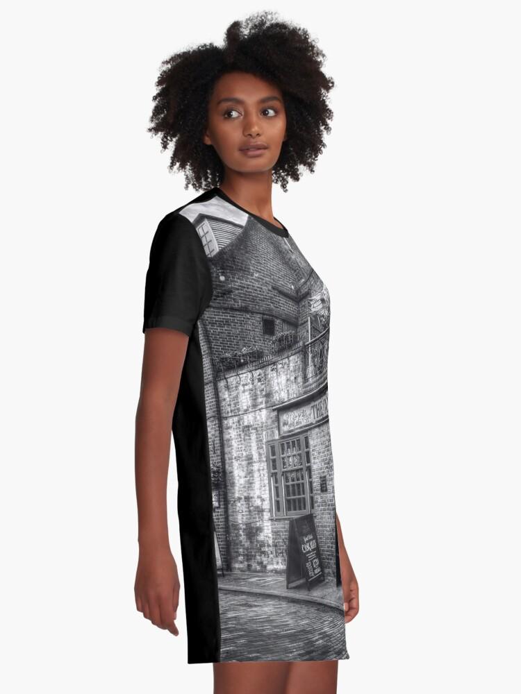 Alternative Ansicht von The Anchor Pub London T-Shirt Kleid