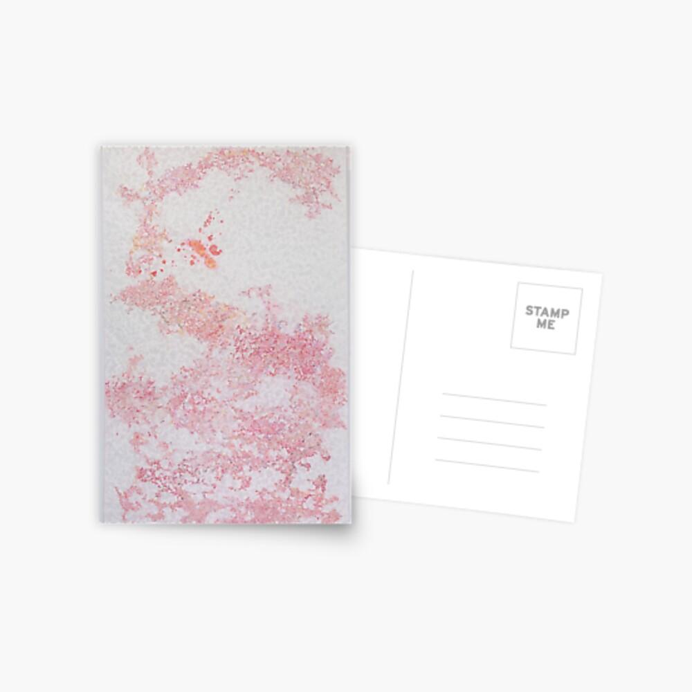 Red Patterns (Japanese design)  Postal