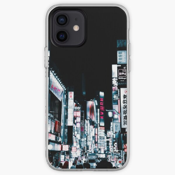 Kabukicho's Signs iPhone Soft Case