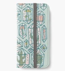 Crystals and Plants iPhone Wallet/Case/Skin