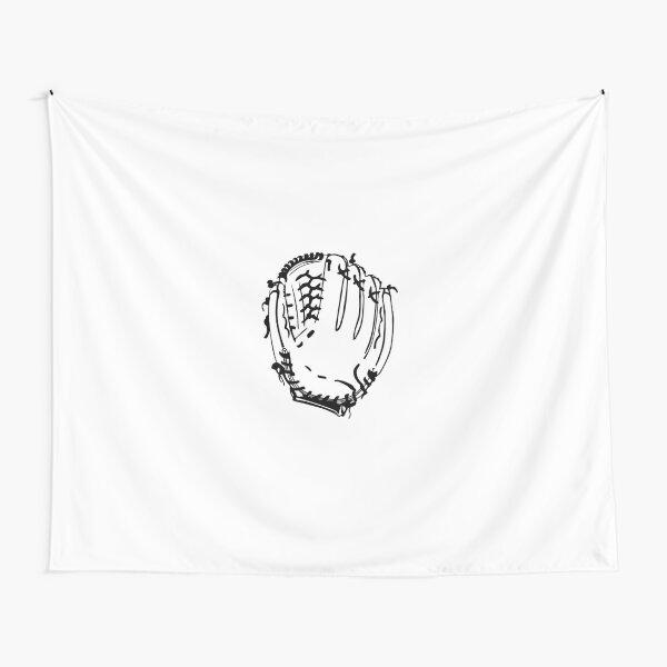 Baseball glove Tapestry