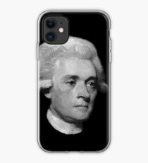 American Founding Father, president Jefferson Portrait T-shirt iPhone Case