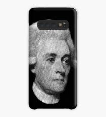 American Founding Father, president Jefferson Portrait T-shirt Case/Skin for Samsung Galaxy