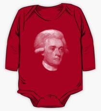 American Founding Father, president Jefferson Portrait T-shirt Long Sleeve Baby One-Piece