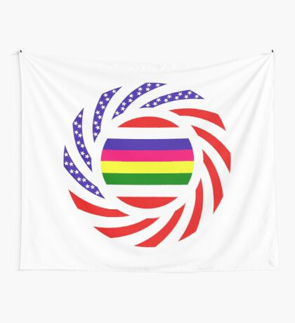 Korean American Multinational Patriot Flag Series 2.0 Wall Tapestry