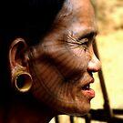 A Chin Tribe Woman by Brian Bo Mei