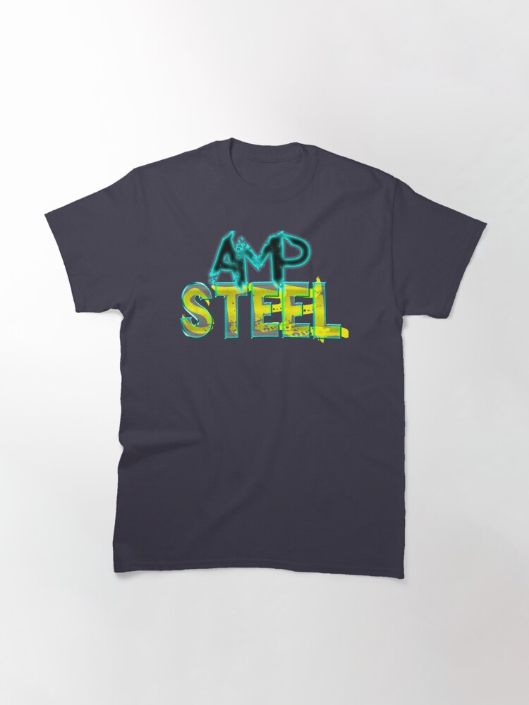 Alternate view of Pump up your style with Amp Steel Classic T-Shirt