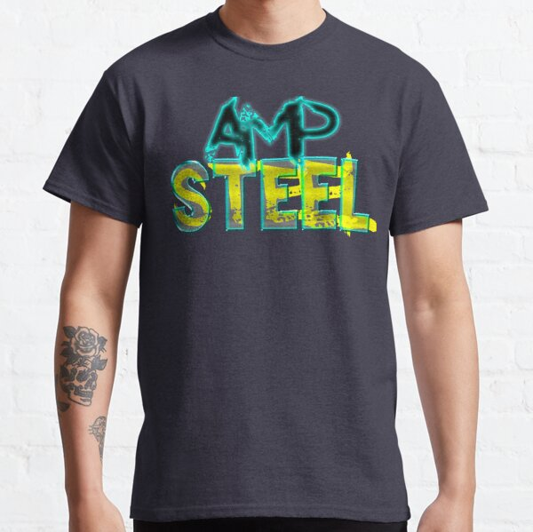 Pump up your style with Amp Steel Classic T-Shirt