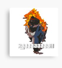 Daveman42's Scream GTA Online Canvas Print