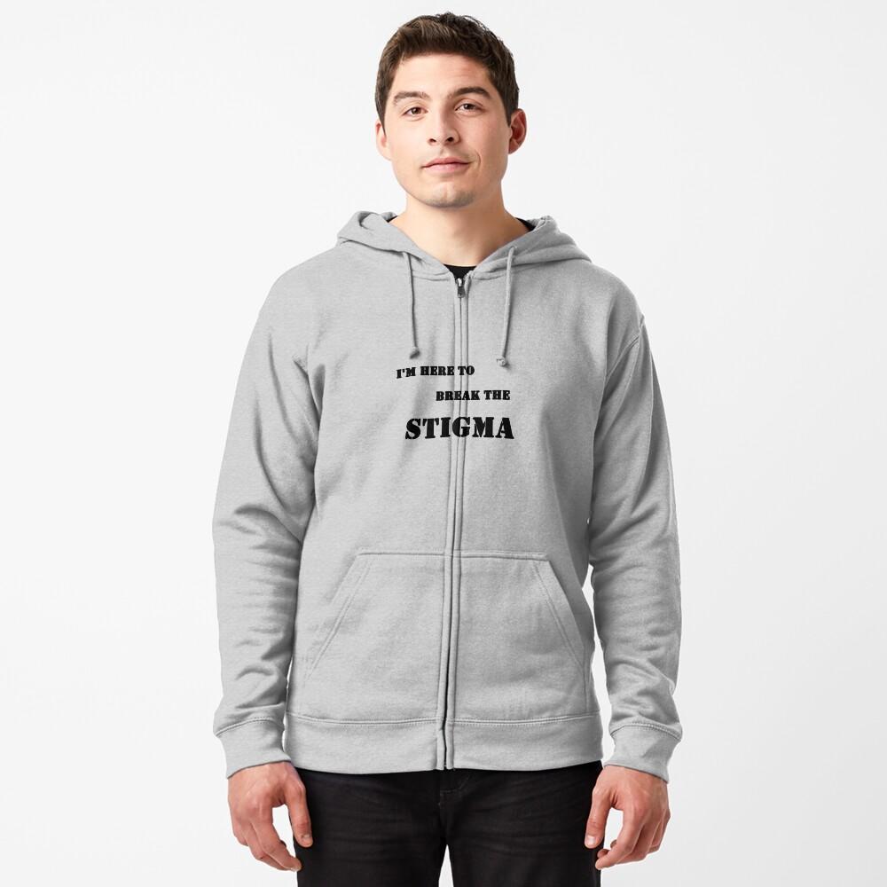 Stigma Zipped Hoodie