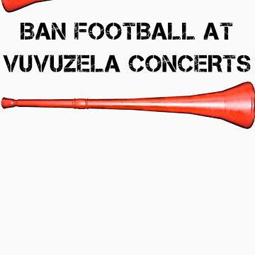 Concerto for Vuvuzela Tee - 1 by stillbeing