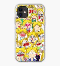 Usagi's faces iPhone Case