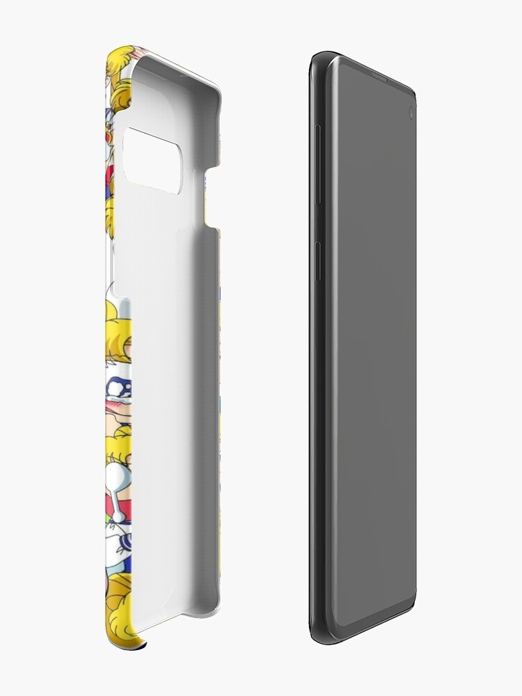 Alternate view of Usagi's faces Case & Skin for Samsung Galaxy