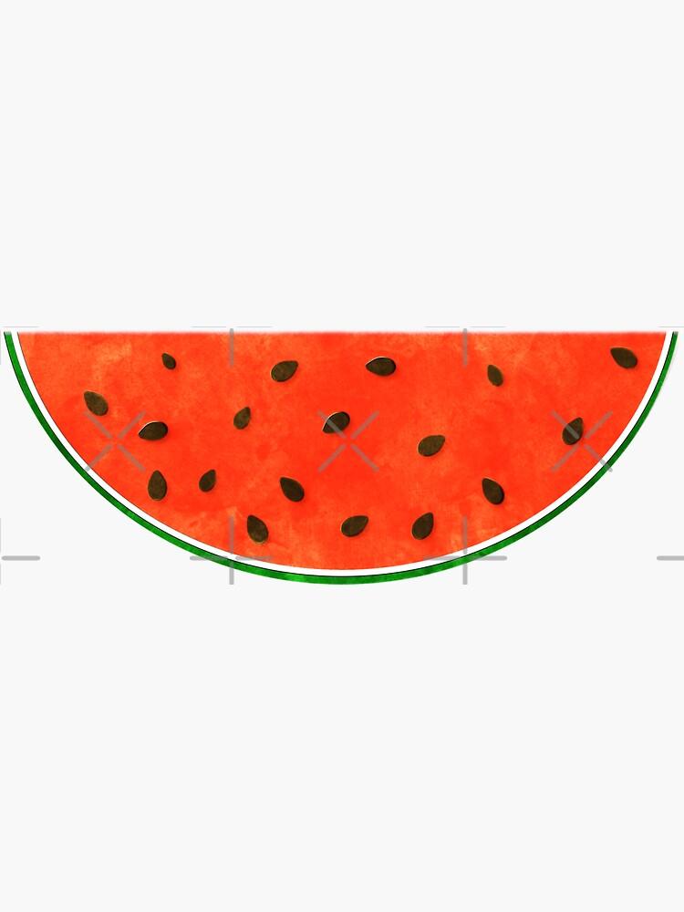 Watermelon Watercolor by ButterflysAttic
