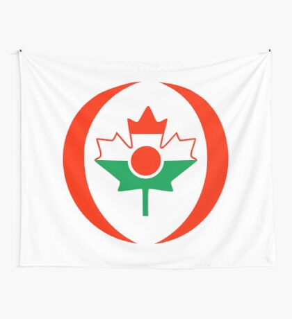 Niger Canadian Multinational Patriot Flag Series Wall Tapestry