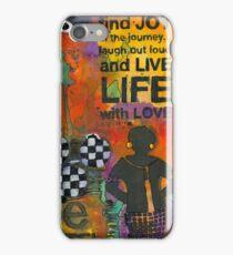 Finding JOY in My Journey iPhone Case/Skin