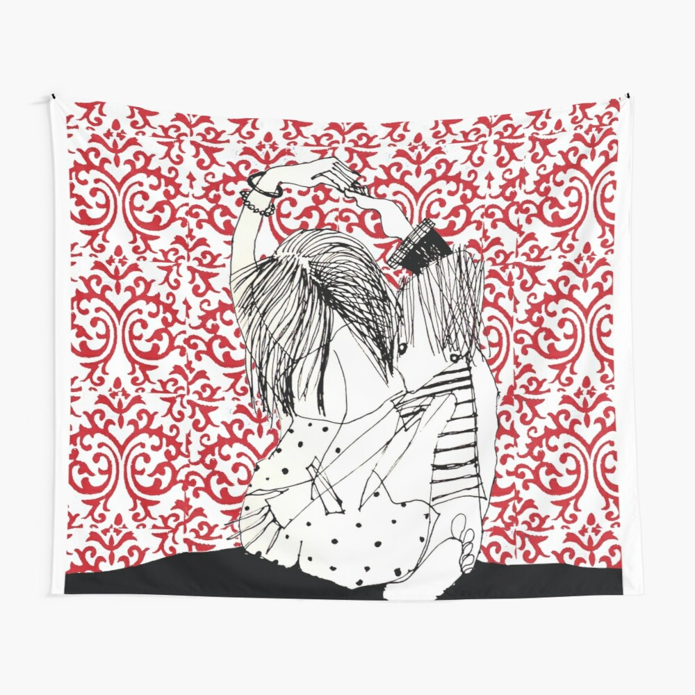 It takes two to tango! Wall Tapestry