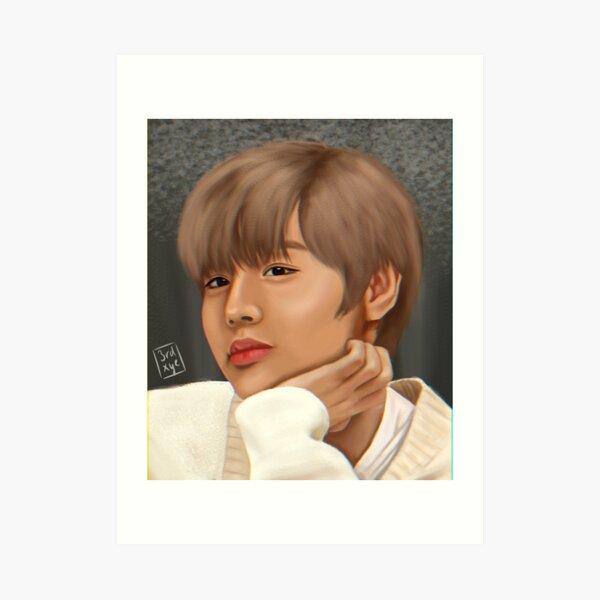 park jihoon, former wanna one Art Print
